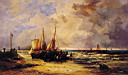 Oil painting reproduction of Coming Ashore